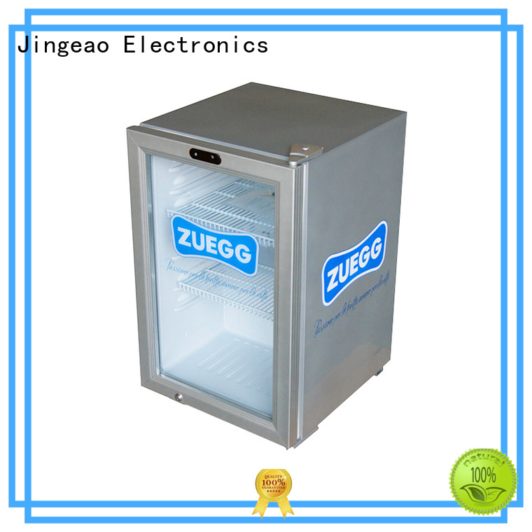 Jingeao beverage commercial display fridges environmentally friendly for supermarket