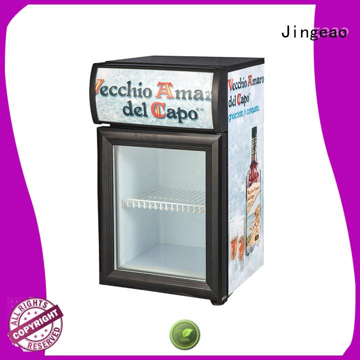Jingeao fridge commercial display refrigerator management for school