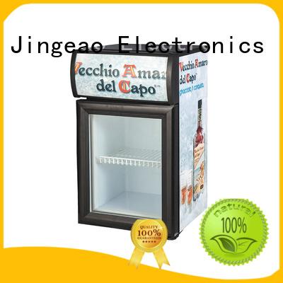 Jingeao popular display refrigerator improvement