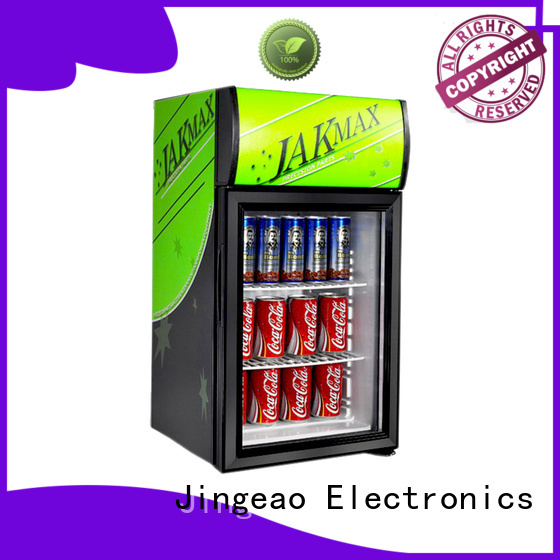 Jingeao beverage display chiller constantly for bakery
