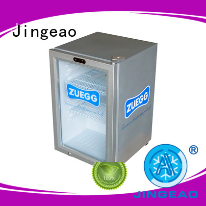 Jingeao popular beverage coolers manufacturers application for school