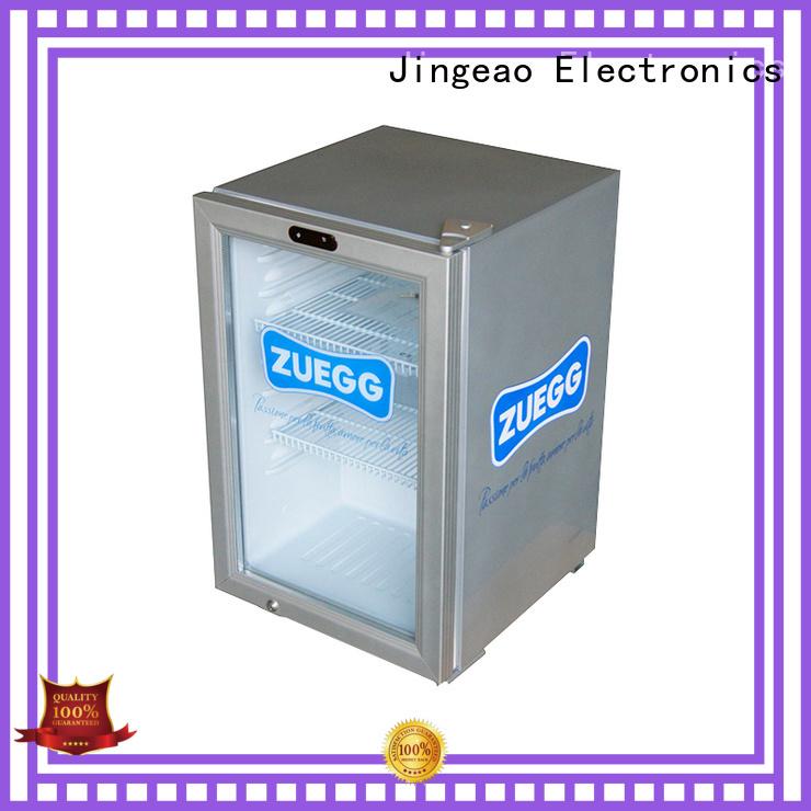 Jingeao cooler mini display fridge environmentally friendly for restaurant