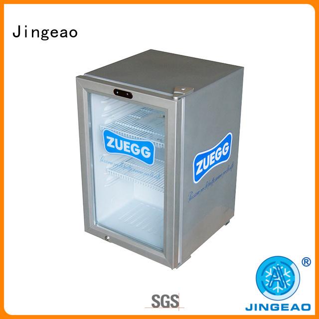 Jingeao superb display freezer constantly for market