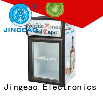 Jingeao energy saving display fridge marketing for school