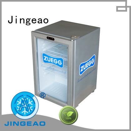 Jingeao beverage display refrigerator package for bar