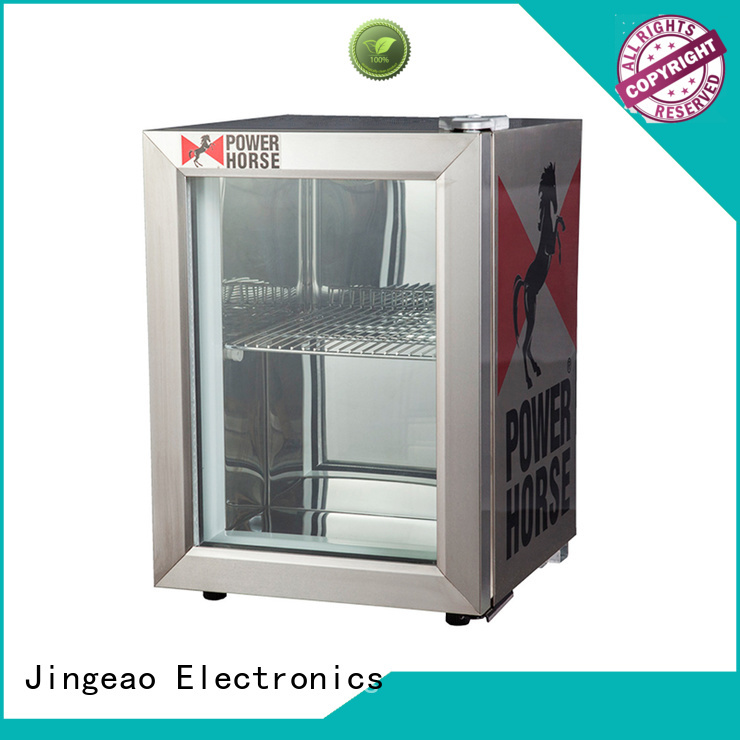 Jingeao cooler display freezer constantly for wine