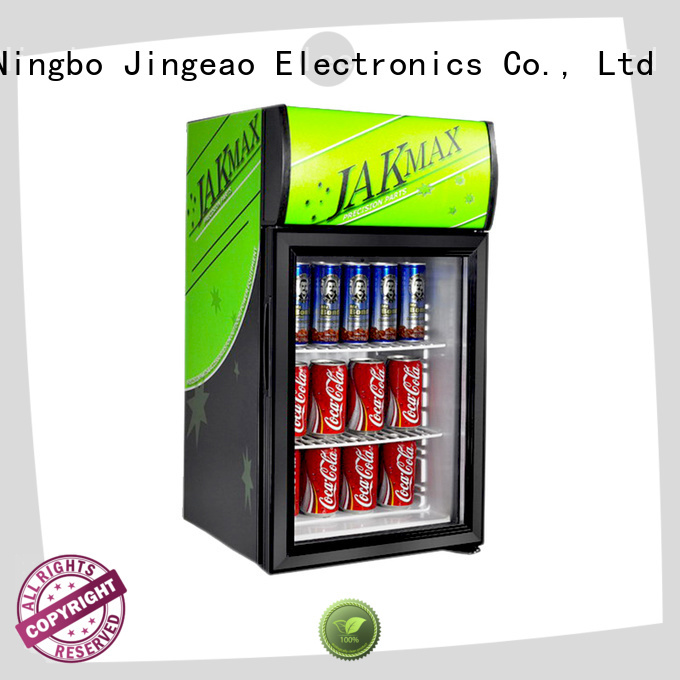 Jingeao cool display refrigerator research for bar