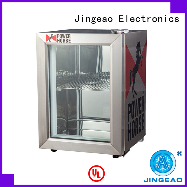 Jingeao fabulous glass door beverage cooler beverage for wine