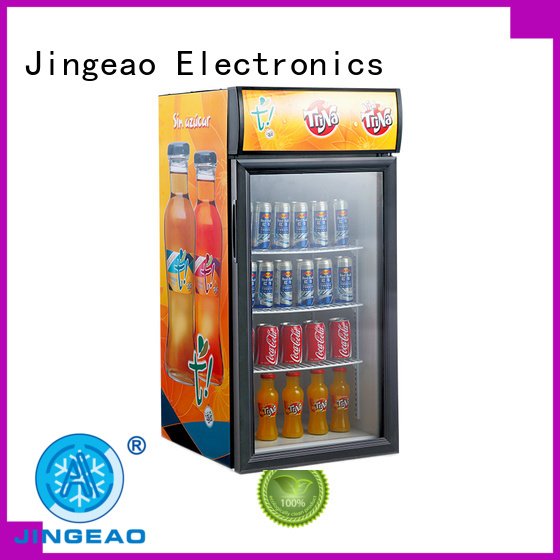superb Display Cooler display marketing for supermarket
