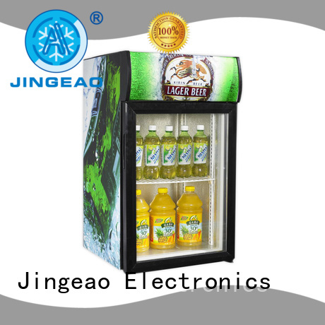 Jingeao good-looking commercial display refrigerator environmentally friendly for wine