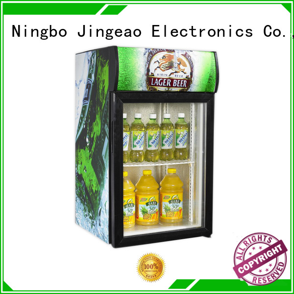 Jingeao cooler commercial display fridges environmentally friendly for market