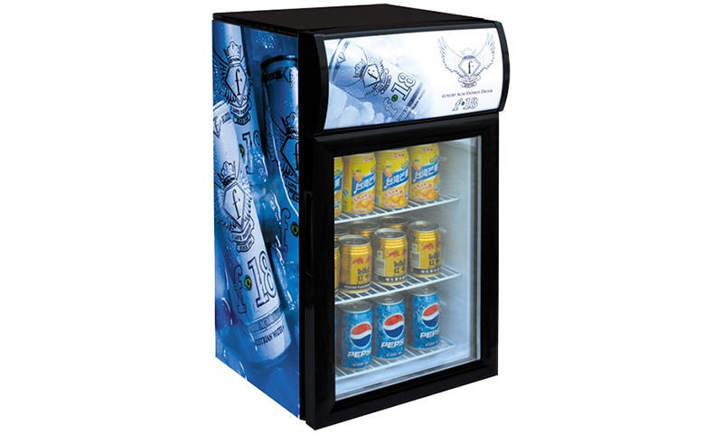 Jingeao cooler glass front fridge certifications for supermarket-1