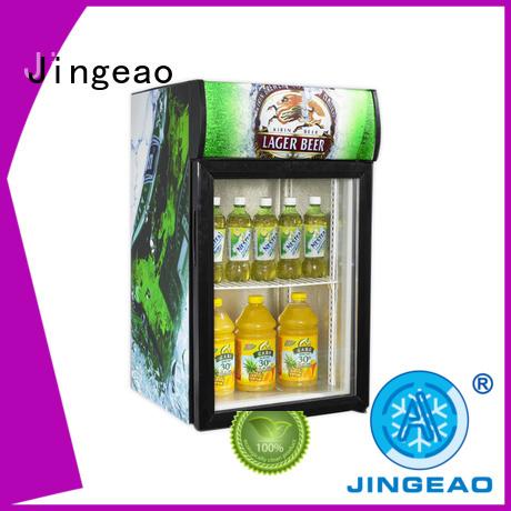Jingeao popular commercial beverage cooler protection for school
